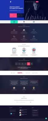 website design software free free creative design agencies website template free psd at downloadpsd