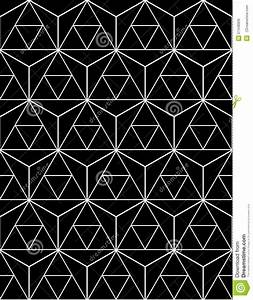 Black And White Seamless Pattern Sacred Geometry Stock ...