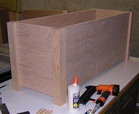 toy box plans rockler plans diy   wooden cross