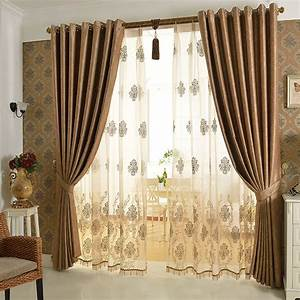 european luxury curtain cortina windows screening bedroom With curtains design for bedroom 2018
