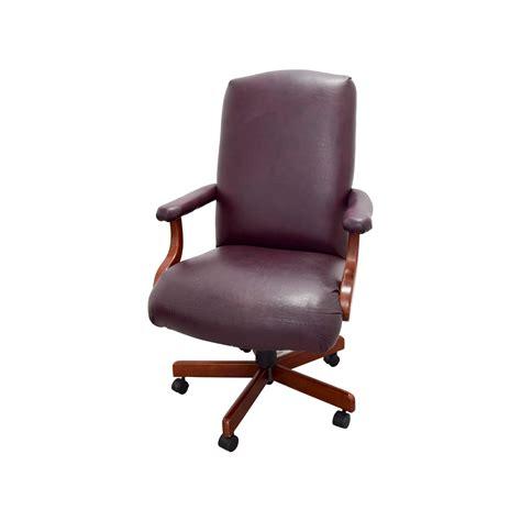havertys havertys executive desk  leather