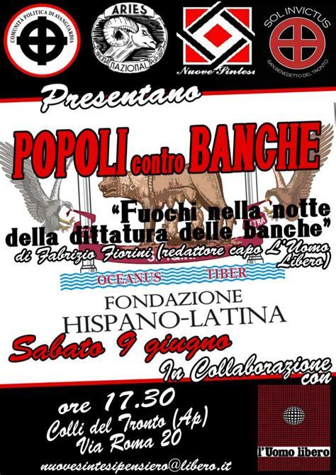 Associazione Contro Le Banche by Colli Tronto Popoli Contro Le Banche Presentazione