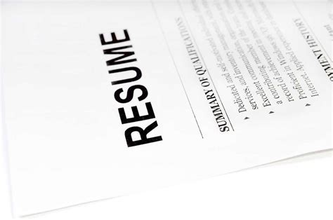 10 things not to include when writing a resume careerbuilder