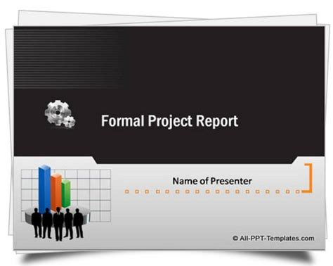 powerpoint formal report template
