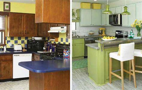 cuisine maison de cagne 12 exemples avant après pour un relooking maisons