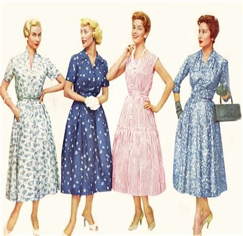 Fashion Trends Of The Past 1950s 1970s Blushingbtique