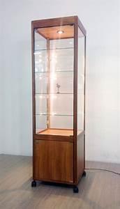 Vitrine En Bois : meuble vitrine verre ~ Teatrodelosmanantiales.com Idées de Décoration