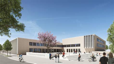 Riedberg Gymnasium In Frankfurt by 3d Aussenvisualisierung Gymnasium In Riedberg