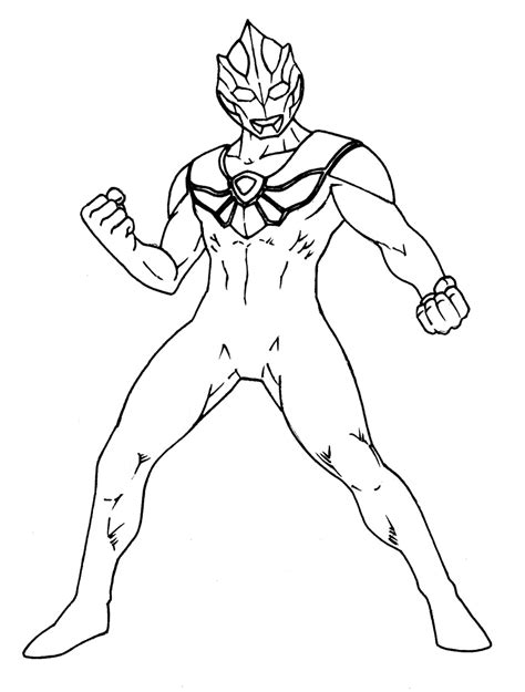 Coloring Ultraman dc ultraman coloring pages coloring pages