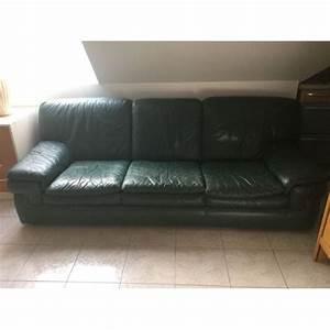 canape et fauteuil cuir roche bobois achat et vente With canapé et fauteuil en cuir