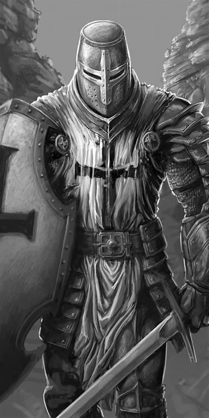 Knight Warrior Fantasy Templar Tattoo Tattoos Background