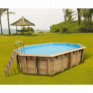Piscine Bois Ubbink : piscine bois ocea ubbink 400x610cm h 130cm liner bleu ~ Mglfilm.com Idées de Décoration