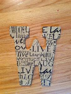 17 best images about wooden letter art on pinterest With michaels paper letters