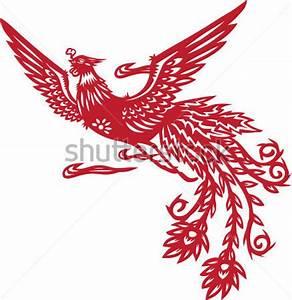Chinese Phoenix stock vector - VectorHQ.com