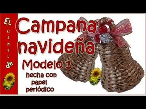 Campanas navideñas // // Manualidades navideñas // Christmas crafts FunnyCat TV