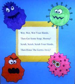 crafts for preschoolers wash those germs away chasing 383 | ceac9f39aac333047ffe1dc044d175fc