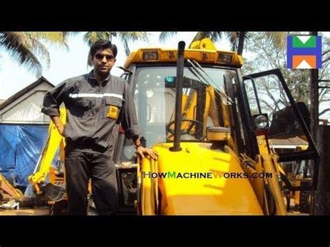 drive  operate  jcb bhl machine