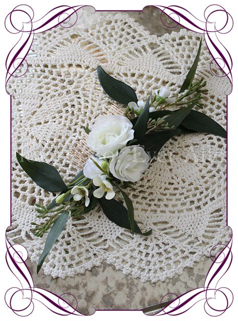 Donna Hair Comb Gorgeous Artificial Bridal Bouquets