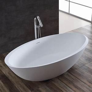 Freistehende Badewanne Klein : stoneart badewanne freistehend bs 531 wei 190x100 matt online ordern ~ Sanjose-hotels-ca.com Haus und Dekorationen
