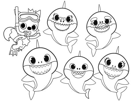 Pinkfong Baby Shark My First Big Book Of Coloring By