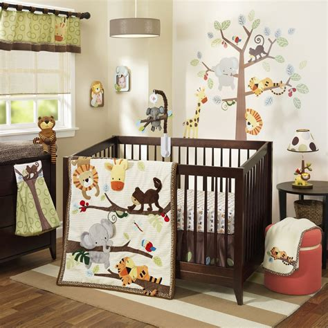 lambs and ivy l lambs and ivy treetop buddies crib bedding and accessories