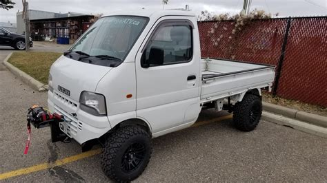 2001 Efi 4wd Suzuki Carry 16138km 5-speed