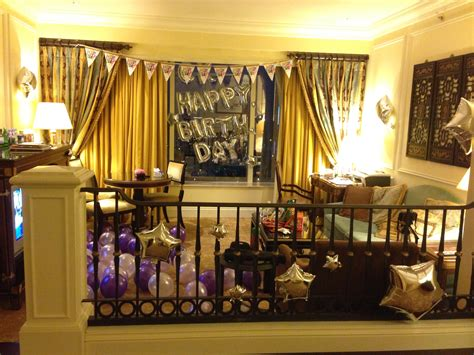 Decorate A Hotel Room For Birthday Parties Ideas