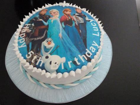 easy frozen themed cakes     amazing