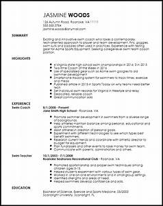 sports resume template resume and cover letter resume With athletic resume template free