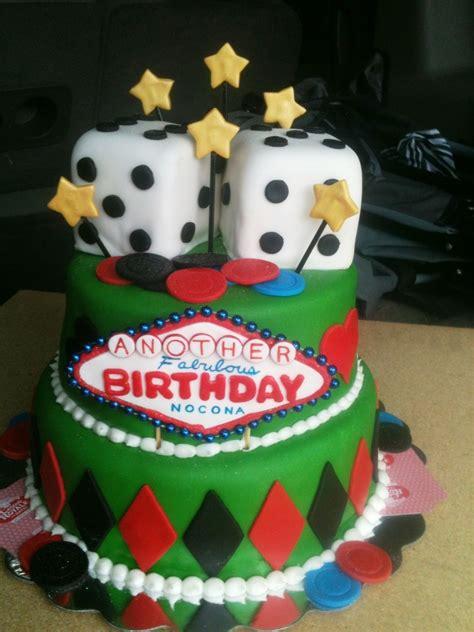 Las Vegas Themed Birthday Cake Cakecentral