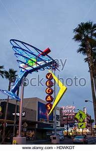 Oscar s Neon Martini Glass and Vegas neon signs Fremont