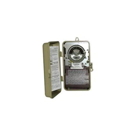 Indoor Outdoor Timer Switch Hour Single Pole