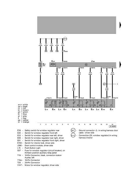 Passat Central Locking Wiring Diagram by Repair Guides Central Door Locking System 2004