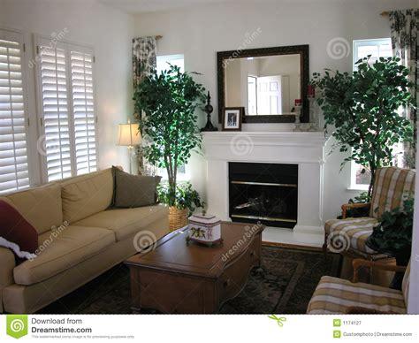 Nice living room stock image. Image of bright, sofas
