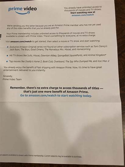 Prime Letter Promo Mail Updraftplus Snail Sends