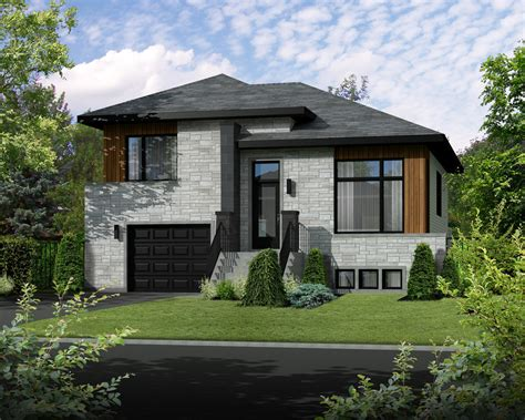 Contemporary Style House Plan  2 Beds 100 Baths 1154 Sq