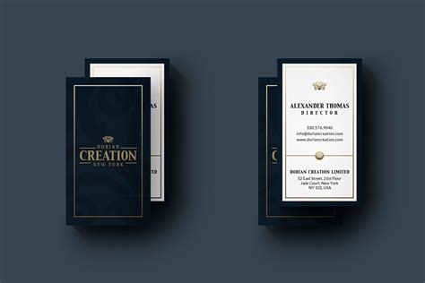 elegant business card creative photoshop templates