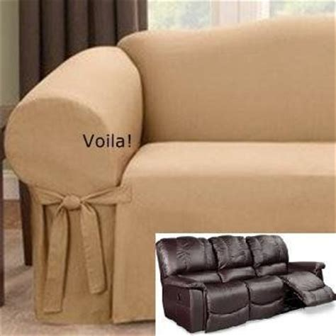 couch covers for reclining sofa 17 best images about slipcover 4 recliner couch on