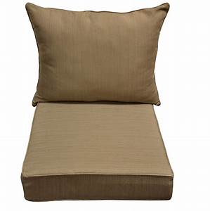 Deep seating replacement cushions for outdoor furniture for Furniture covers for outdoor seating