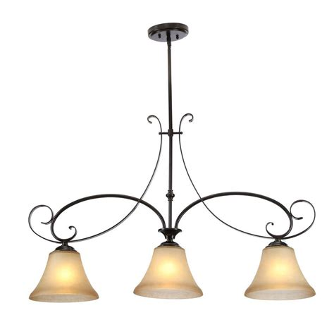 3 light pendant island kitchen lighting hton bay essex 3 light aged black island pendant 14710