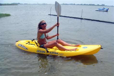 Paddle Boat For Rent Near Me by Kayaking In The Outer Banks Rent A Kayak Today