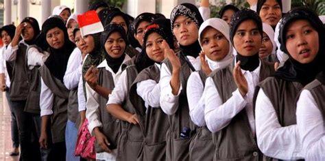 berapakah jumlah tkitenaga kerja indonesia  bekerja  luar negeri   kedai