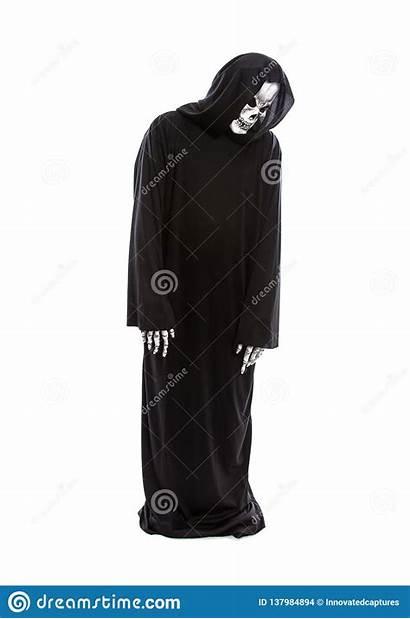 Grim Reaper Sad Skeleton Ghost Halloween Depressed