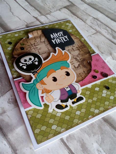 scrapping   june card kit pirates  mermaids