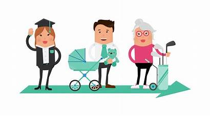 Financial Clipart Advice Wellness Employee Cycle Stages