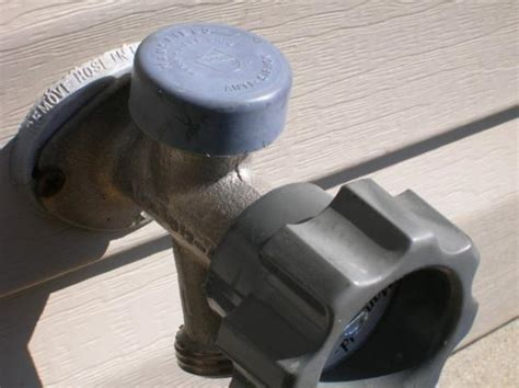 leaking outdoor faucet in winter outdoor water faucet types