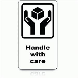 Buy Handle With Care Labels | Packing & Shipping Labels