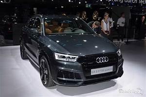 Audi Paris : audi q3 au mondial de paris 2016 en photos hd ~ Gottalentnigeria.com Avis de Voitures