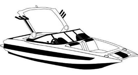 How To Draw A Ski Boat by The Tower Covers For Tournament Ski Boats With Wide Bows