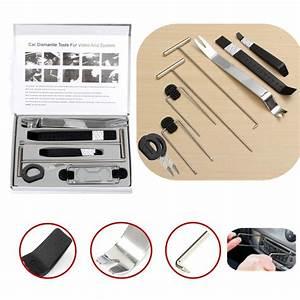 Kit Ouverture De Porte Voiture : 9pcs car dismantle door trim panel clip lights radio removal pry open tool sale ~ Medecine-chirurgie-esthetiques.com Avis de Voitures